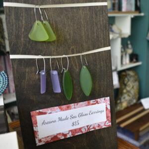 Arcana Sea Glass Earrings
