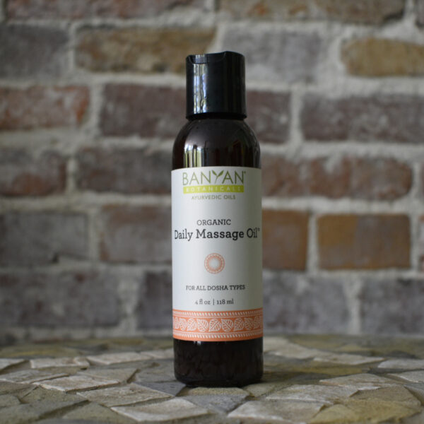 Daily Massage Oil by Banyan Botanicals